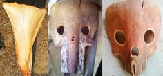 Yard Waste = Free Halloween Costume: How to Make Creepy Masks from Fallen Palm…