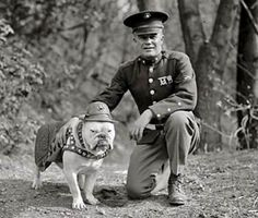 A Young Chesty Puller - not so easy to distinguish from an old Chesty Puller or his unidentified but clearly related fellow Marine in this photograph.