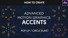 After Effects : Motion Graphics Accents/Circle Burst Tutorial #35 by Dop...