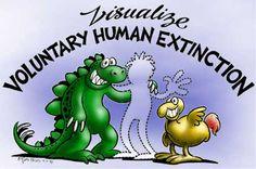 Visualize Voluntary Human Extinction