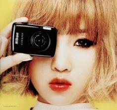 Minzy for Nikon 2ne1 Minzy, Sandara Park, Korean Bands, Spice Girls, Girl Bands, Yg Entertainment, Kpop Girls, Girl Group, Korean Fashion