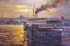 Istanbul, Earth, Draw, Wallpaper, Artist, Poster, Oil Paintings, Watercolors, Paintings