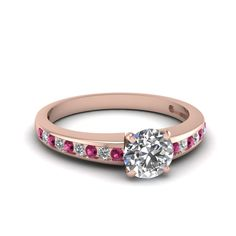 Probably my favorite pink sapphire ring! Gorgeous in white gold!