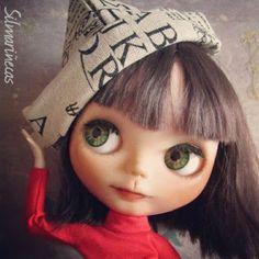 Petos oversize para muñecas Blythe o Basaak doll, con trozos viejos de tela