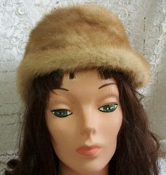 Vintage Sable Mink Hat  Excellent condition  22 by thingsandblings