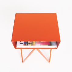 Mini Robot bedside table   various colours / &New - Modern British Furniture