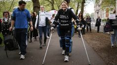ReWalk Exoskeleton Top 15 Exoskeletons Merging Man With Machine http://bionic.ly/1batRzN  #exoskeleton #wearables