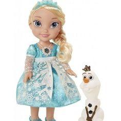 Disney Princess Frozen Elsa Snow Glow Singing Doll with Olaf Girl Toys NEW  #Disney