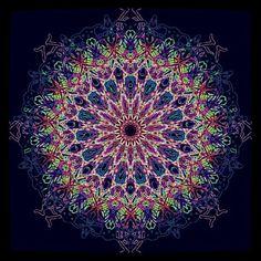 Pastel Pop Mandala - http://instaprints.com/featured/pastel-pop-mandala-vicki-field.html