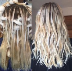 Look gorgeous during the festival season in a stylish blonde balayage hairdo. Go through our trendsetting balayage hairstyles of 2018 for more ideas. Blonde Balayage Highlights, Balayage Hair, Ombre Hair, How To Balayage, Bayalage, Honey Blond, Great Hair, Hair Day, 50 Hair