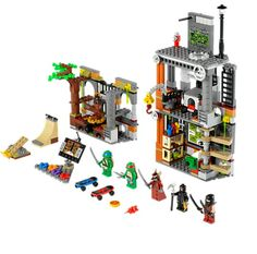LEGO 79103 Turtle Lair Attack instructions displayed page by page to help you build this amazing LEGO Teenage Mutant Ninja Turtles set Lego Ninja Turtles, Teenage Mutant Ninja Turtles, Teenage Ninja, Legos, Diy Educational Toys, Lego Toys, Lego Playsets, Building Blocks Toys, Buy Lego