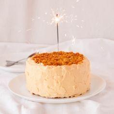 Salted caramel birthday cake by ModernTaste