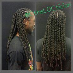 Locs, Men With Locs, Loc Styles, Twist, Braids, Loc Style,