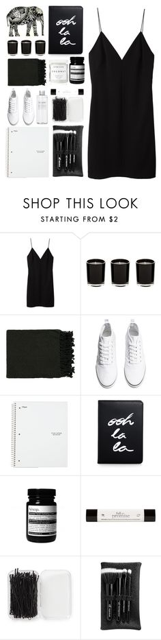 """""""7.9.16"""" by ashola18 ❤ liked on Polyvore featuring T By Alexander Wang, Surya, H&M, Muji, Kate Spade, Herbivore, philosophy, Forever 21 and e.l.f."""