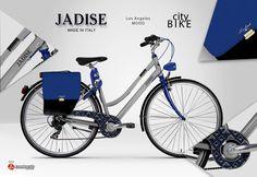 Biciclette e moda, un binomio del life style moderno. Lo stile #Jadise abbraccia le biciclette #Lombardo, espressione di uno modo di vita, di un sogno di libertà che si realizza ogni giorno. Le city bike Jadise danno vita a questo sogno in movimento. Stile, eleganza e glamour in una due ruote che non passa inosservata.  #jadise #fallwinter20142015 #madeinitaly #borse #bags #cool #fashion #moda #colori #outfit #urbanstyle #chicbags #bicicletta #Lombardo