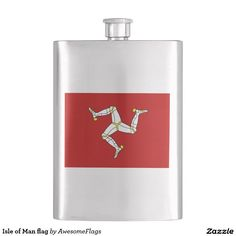 Isle of Man flag Flasks