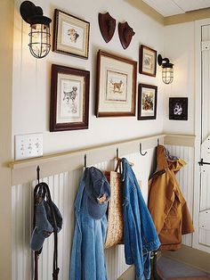 english prep mudroom | Barn Light Atomic Topless Wire Guard WGU Sconces