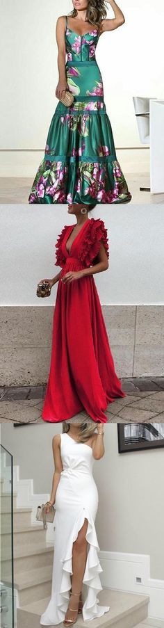 Spring Summer Dresses for You.Pick Some for a Romantic Dating. Spring Summer Dresses for You.Pick Some for a Romantic Dating. Vogue Fashion, Curvy Fashion, Event Dresses, Formal Dresses, Derby Outfits, Fairytale Fashion, Dress Patterns, Pretty Dresses, African Fashion