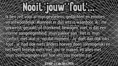 Nooit 'jouw' 'fout'.... #psychologie #bewustzijn #waarheid #denken #illusie #lifecoaching #lifecoach