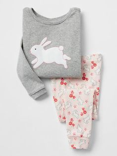 Floral bunny sleep set Product Image