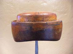 Vintage wooden hat block via Etsy https://www.etsy.com/shop/vintagehatblocks?ref=pr_shop_more