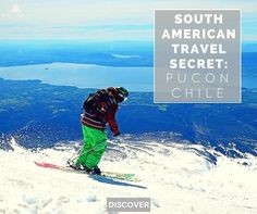 Interested in stepping off the beaten track and into a great new adventure? Plan a trip to Pucon Chile to make some exciting and awe inspiring memories in this town considered to be one of South America's best kept secrets! #travelsecrets #offthebeatenpath #nontouristy#puconchile #adventuretravel  Read it on our Inspire Me Travel  Blog- http://ift.tt/1UR48iQ