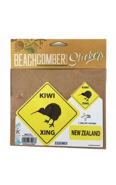 Kiwi, New Zealand, Separate, Stickers, Signs, Watch, Fun, Outdoor, Outdoors