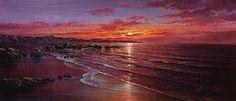 Sunset Rocks I