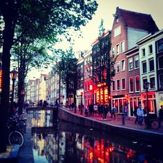 Red Light District / De Wallen in Amsterdam, Noord-Holland