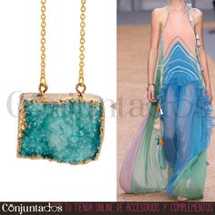 El #collar Kvarts de #cuarzo azul es un collar que sujeta un fabuloso cuarzo en azul claro. El regalo perfecto para las amantes de las piedras semipreciosas. Elegante, discreto y atemporal ★ Precio: 19,95 € en http://www.conjuntados.com/es/collares/collar-kvarts-dorado-con-cuarzo-azul.html ★ #novedades #necklace #conjuntados #conjuntada #joyitas #jewelry #bisutería #bijoux #accesorios #complementos #moda #fashion #fashionadicct #outfit #estilo #style #GustosParaTodas #ParaTodosLosGustos