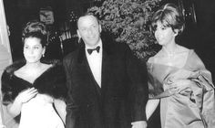 Forever Frank Sinatra : Tina, Frank and Nancy photographed entering The...
