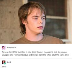 "This revelation. | 15 Tumblr Posts About ""Stranger Things"" That'll Make You LOL"