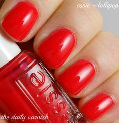 Go Red for Women 2013: Essie - Lollipop