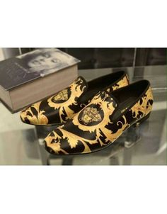 Versace Shoes In 347931 For Men $97.10, Wholesale Replica Versace Fashion Shoes