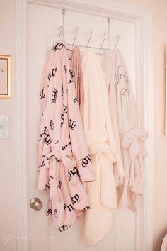 Pink Walk in Closet & Beauty Room Reveal Bathroom Makeup Storage, Plug In Chandelier, Tall Drawers, Cube Storage Shelves, Teen Bedroom Designs, Dressing Table With Stool, Vanity Room, Pink Sofa, Glam Room