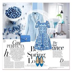 """""""Blue feeling"""" by lucky-1990 ❤ liked on Polyvore featuring Anja, H&M, Whiteley, Charlotte Olympia, mens, men, men's wear, mens wear, male and mens clothing"""