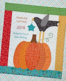 Autumn Love Sew Along - Week 12 the Big Finish and Quilt Label! (Bee In My Bonnet) Quilt Patterns Free, Applique Patterns, Applique Quilts, Embroidery Applique, Cute Quilts, Scrappy Quilts, Mini Quilts, Farm Quilt, Bee In My Bonnet