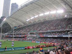 The Hong Kong Rugby Sevens @ Hong Kong Stadium