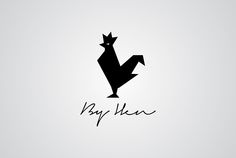 Projeto de logotipo desenvolvido para By Hen