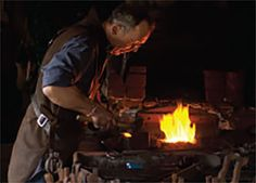 blacksmith's demonstration
