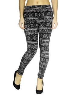 $9.99 - $14.99 cool Women's Winter Footless Leggings with a Floral Pattern, Blue, Plus, Xmas Day