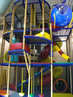 - YMCA designed and manufactured by Playground Design, Indoor Playground, Playground Ideas, Indoor Play Centre, Kids Play Equipment, House Essentials, Playhouse Plans, Church Design, Kid Spaces
