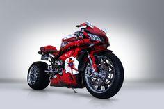 2007 Honda CBR600RR Rariti Custom sponsored by K & N