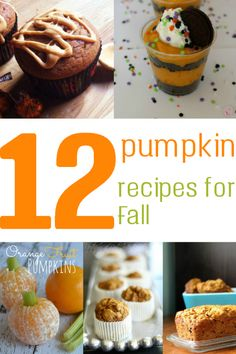 Are you looking to make a pumpkin recipe but want to change it up? Try one of these 12 pumpkin recipes for Fall.