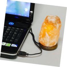 Солевая лампа для людей работающих за компьютером с USB