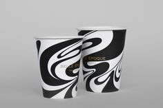 Coffee cups for French Patisserie Belle Epoque by Mind Design