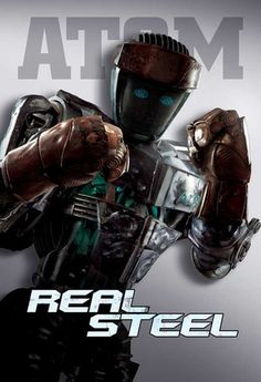REAL STEEL MOVIE POSTER FILM A4 A3 ART PRINT CINEMA