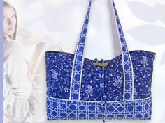 Basket-weave Quilted Tote | Sew4Home