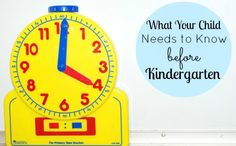 Daily Mom » What Teachers Want Your Child to Know Before Kindergarten  Must read! Great goal to have as to what your child should know before kindergarden.    #parenting #kids from @Daily Mom