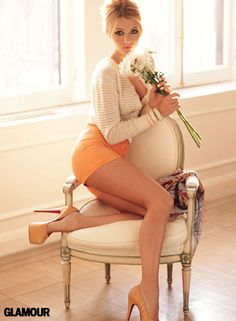 love this outfit <3 Orange :)